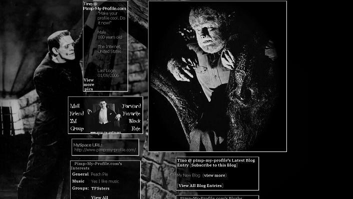 CLASSIC HORROR MONSTERS cLASSIC HORROR MOSTER LAYOUT 705x398