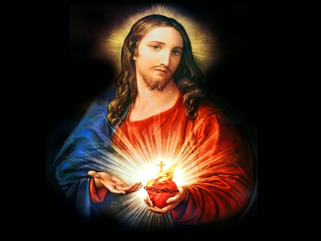 60+] Sacred Heart Of Jesus Wallpaper on WallpaperSafari