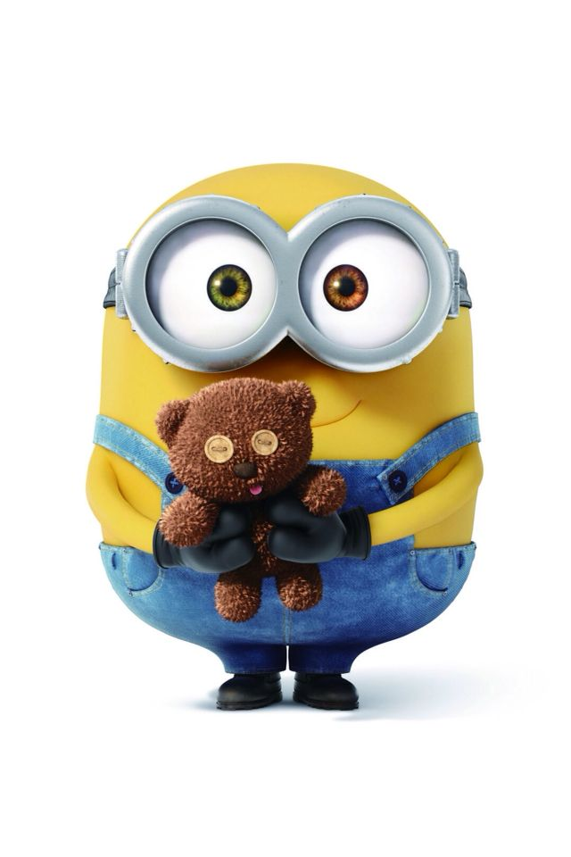 Bob The Minion Teddy Bear Wallpaper For Phones 640x960
