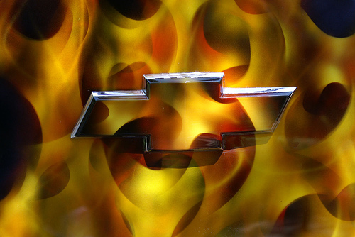 Flaming Chevy Logo Flickr   Photo Sharing 500x334
