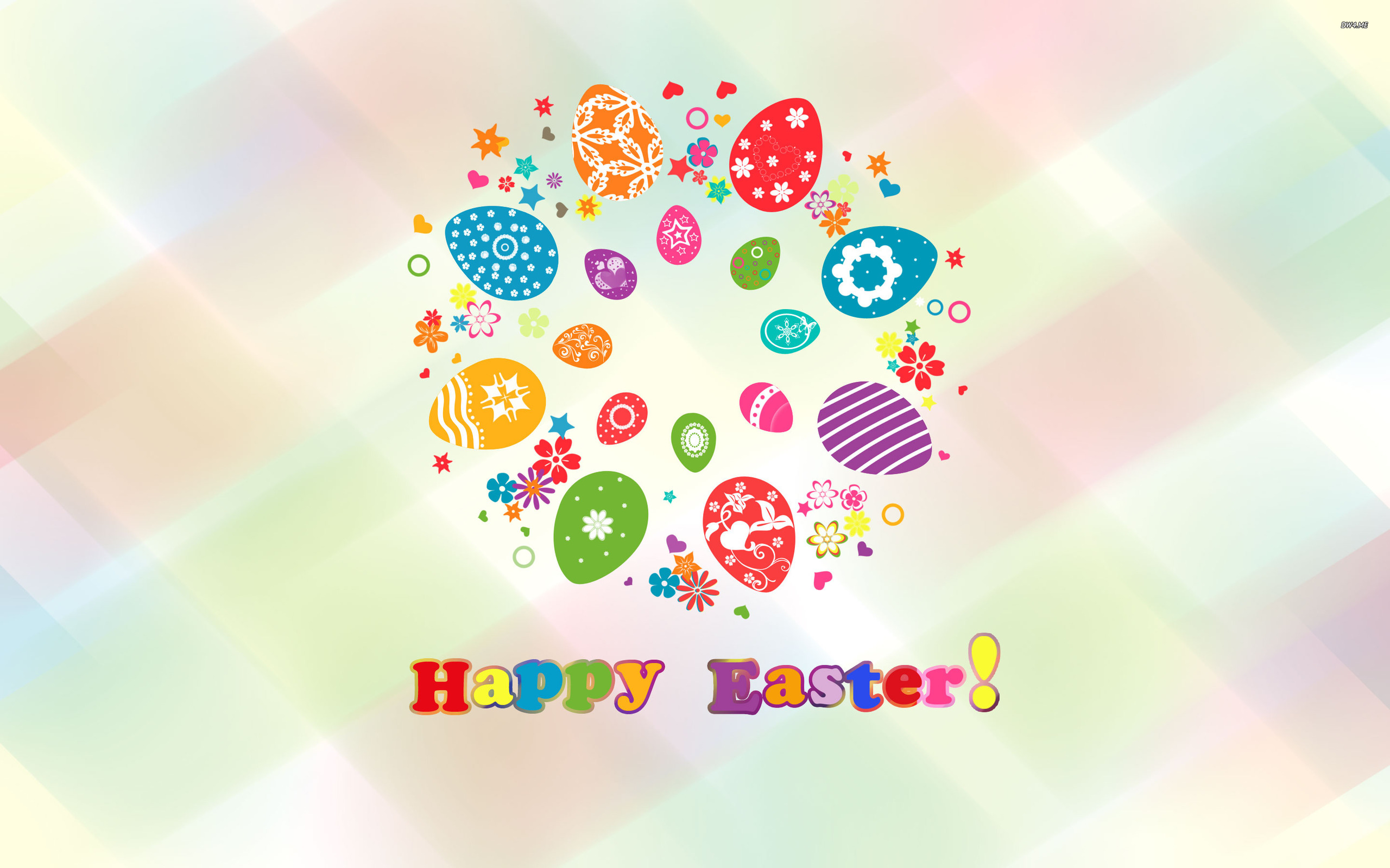 Happy Easter wallpaper   Holiday wallpapers   1252 2560x1600
