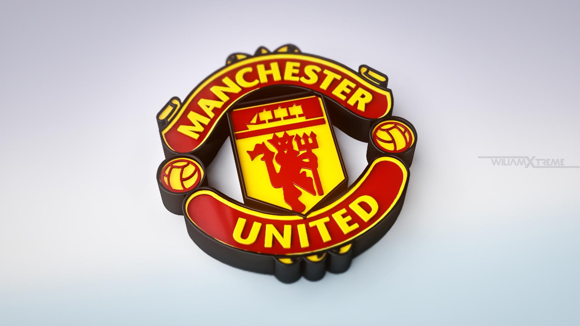 76 ] Man Utd Logo Wallpaper On WallpaperSafari