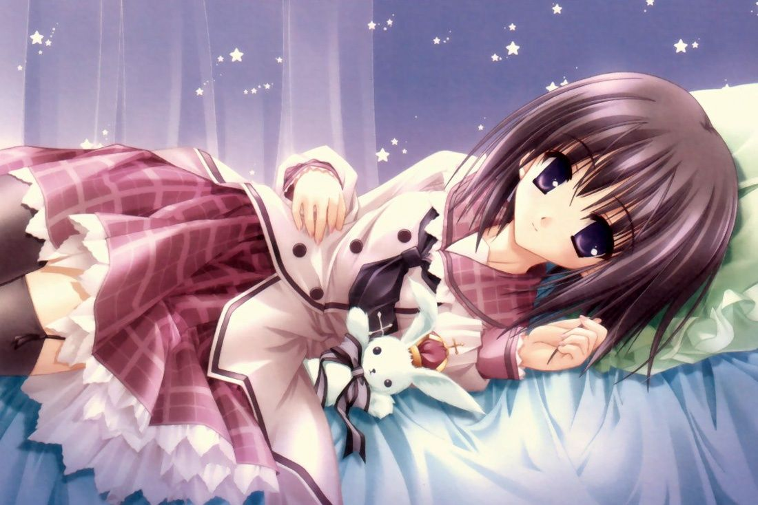 Wallpapers Backgrounds 6 Cute Anime Girl Wallpapers for Desktop 1100x734