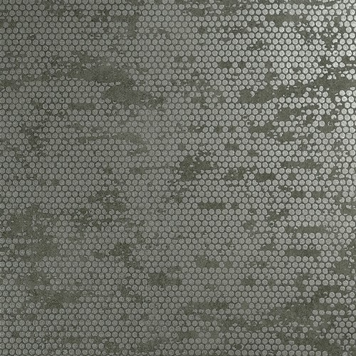 Metallic Silver Spotted Grey Wallpaper R3801 sample More Info 500x500