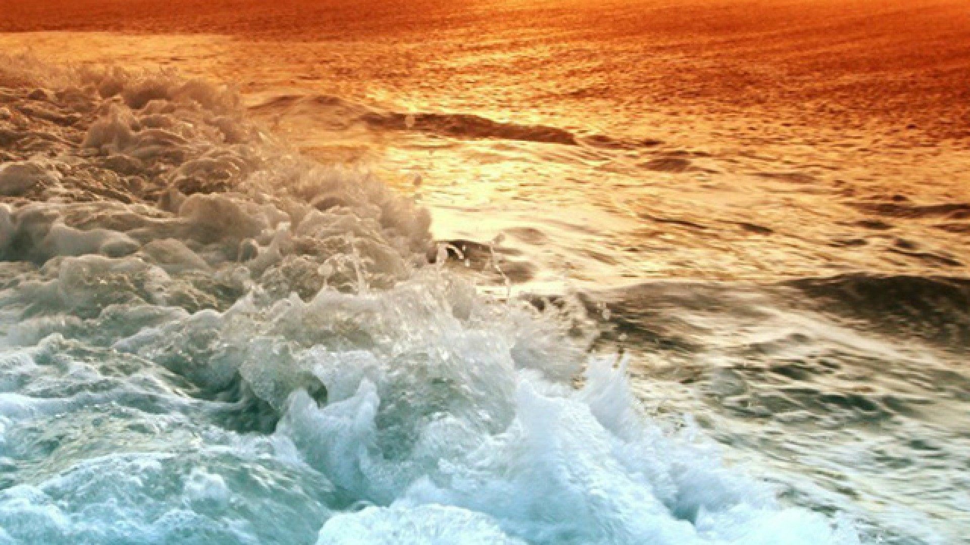 Download Ocean Beach Sunset Hd Iphone Wallpapers   Background 1920x1080
