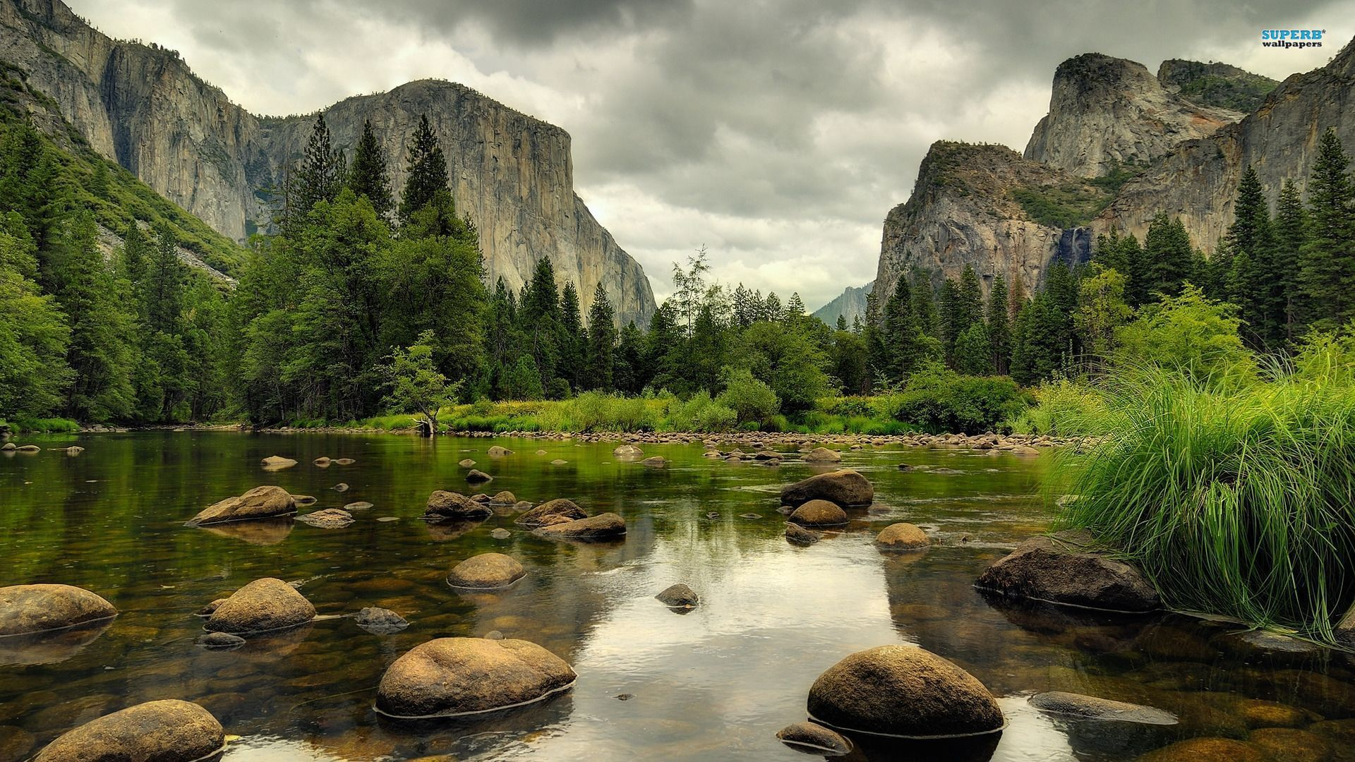 Yosemite Mountain Landscape Wallpaper HD 11 High Resolution Wallpaper 1920x1080