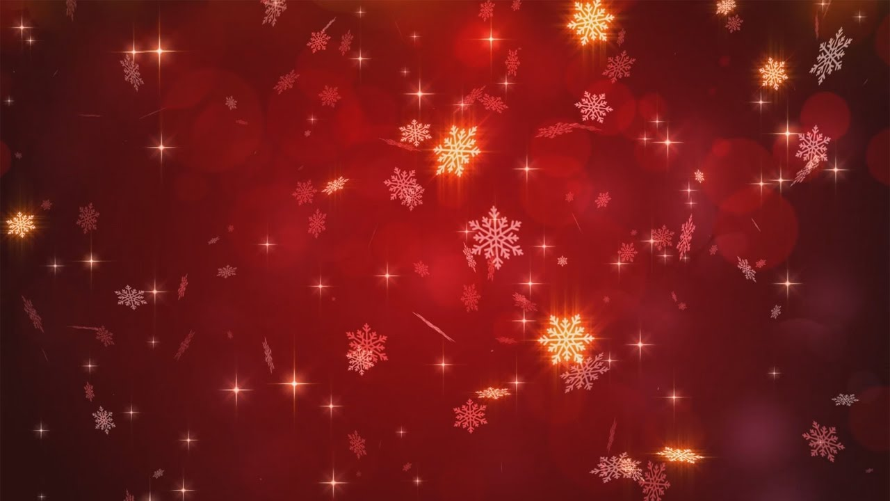 Christmas Video   Animated Background Loop 1280x720