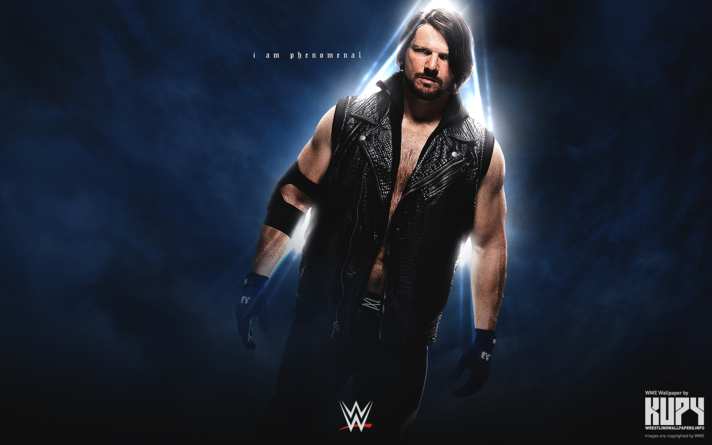 WWE images AJ Styles HD wallpaper and background photos 1440x900