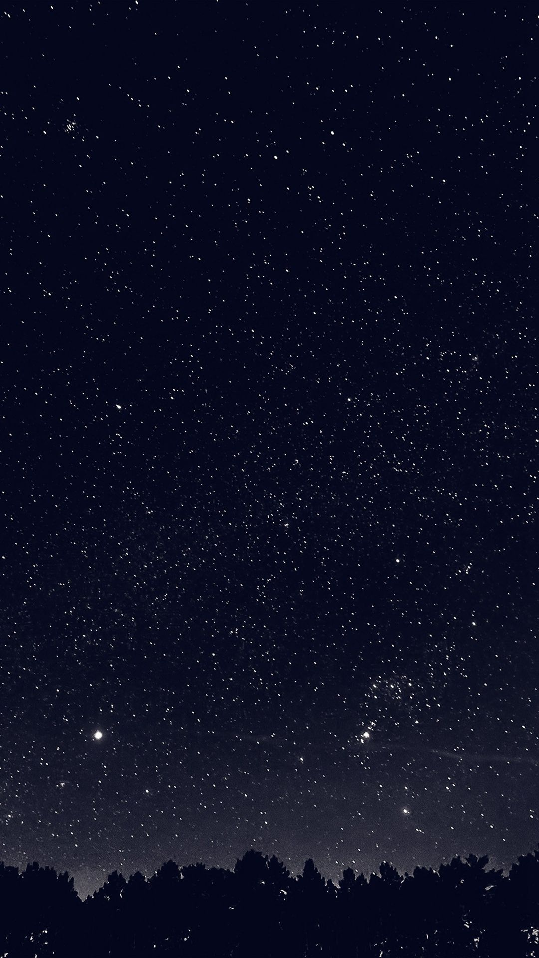 Space Sky Night Dark Nature Bw iPhone 6 wallpaper Fotos de 1080x1920