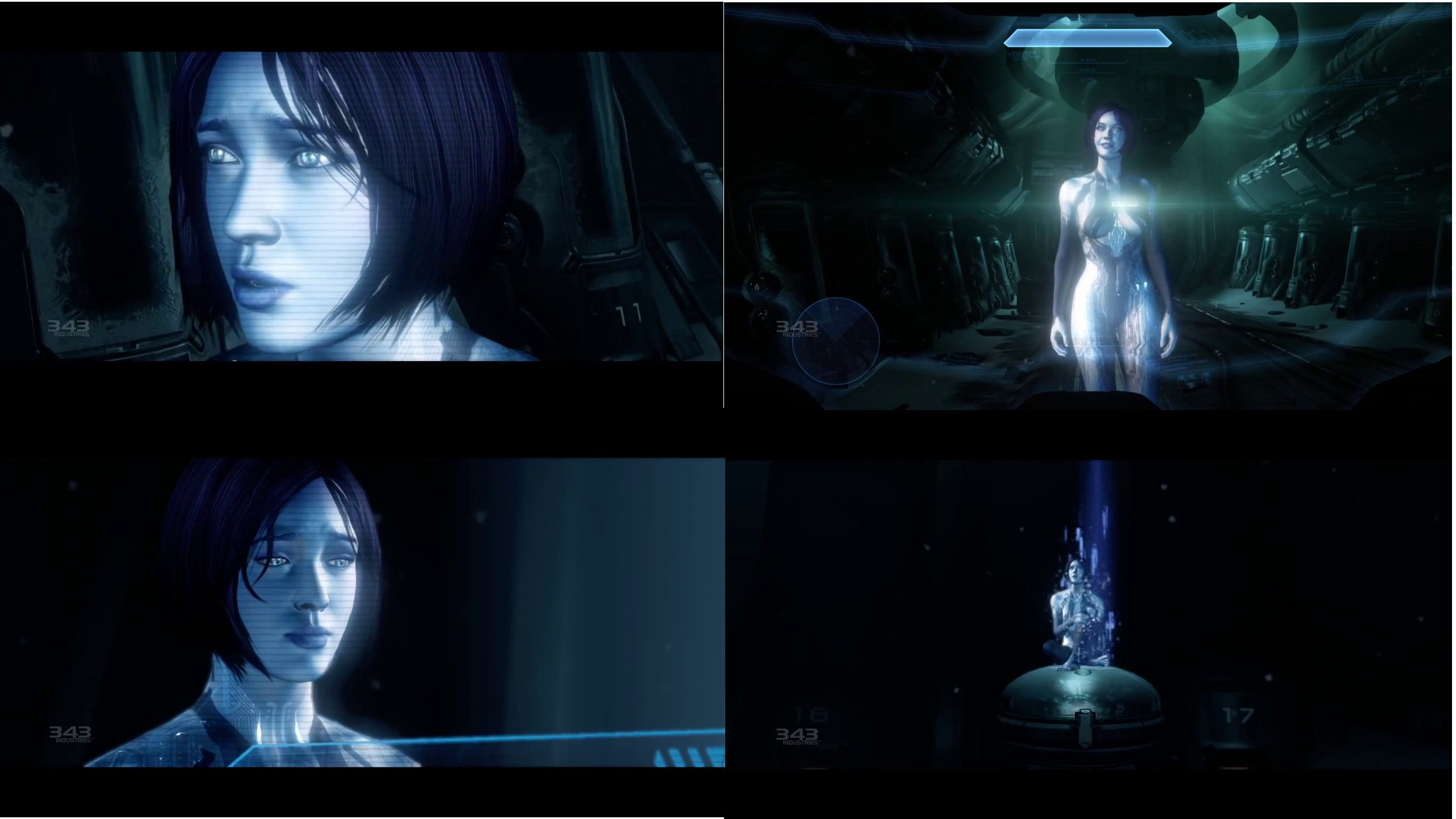 Halo 4 Cortana Images Crazy Gallery 2560x1440