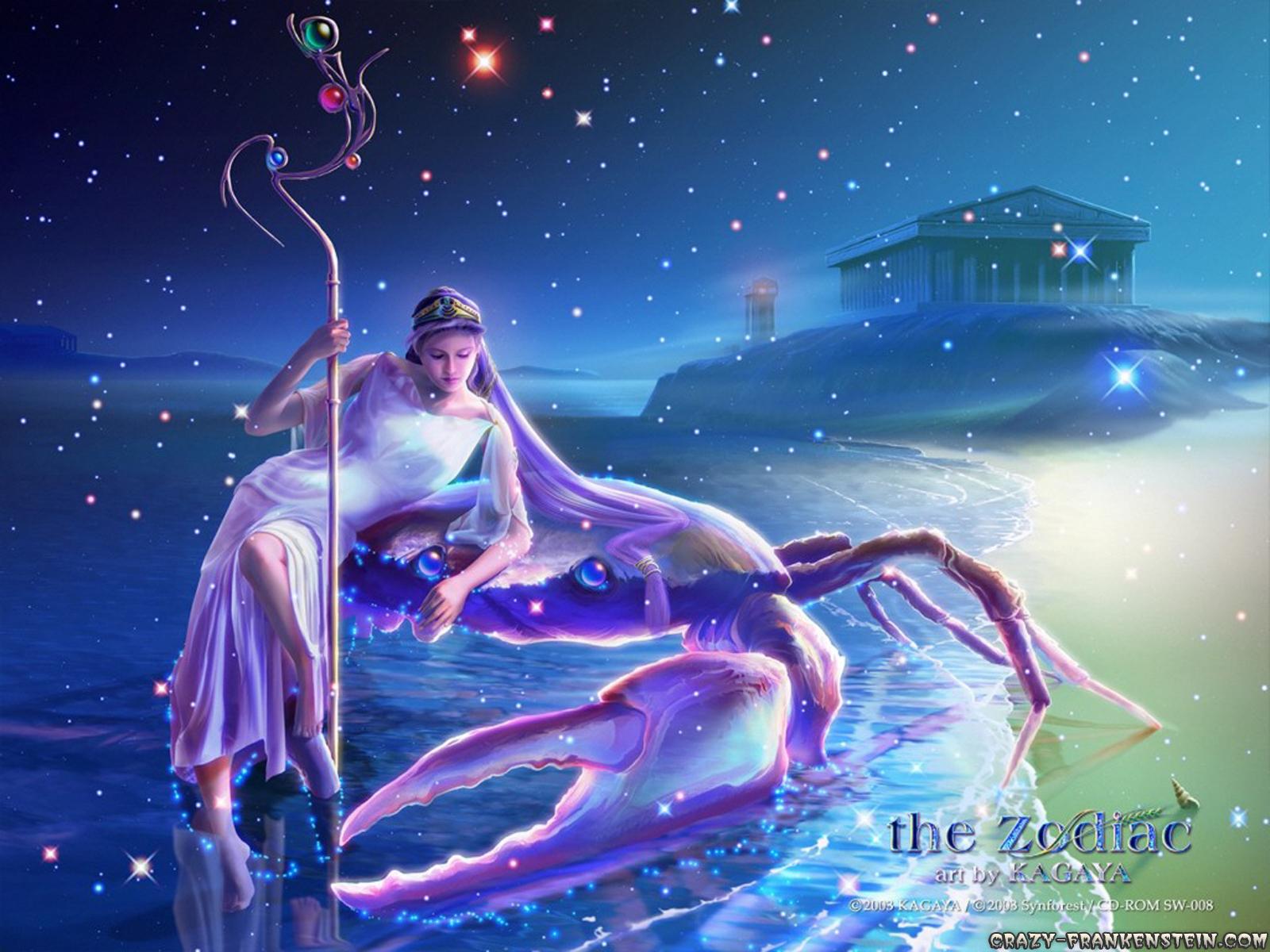 Zodiac sign cancer   Fantasy Photo 16799897 1600x1200