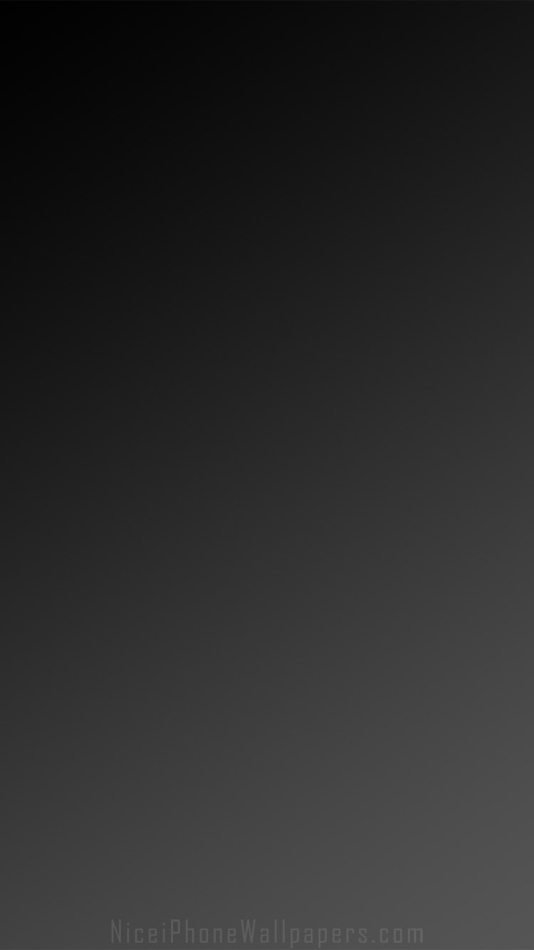 Blackdark grey gradient iPhone 66 plus wallpaper and background 750x1334
