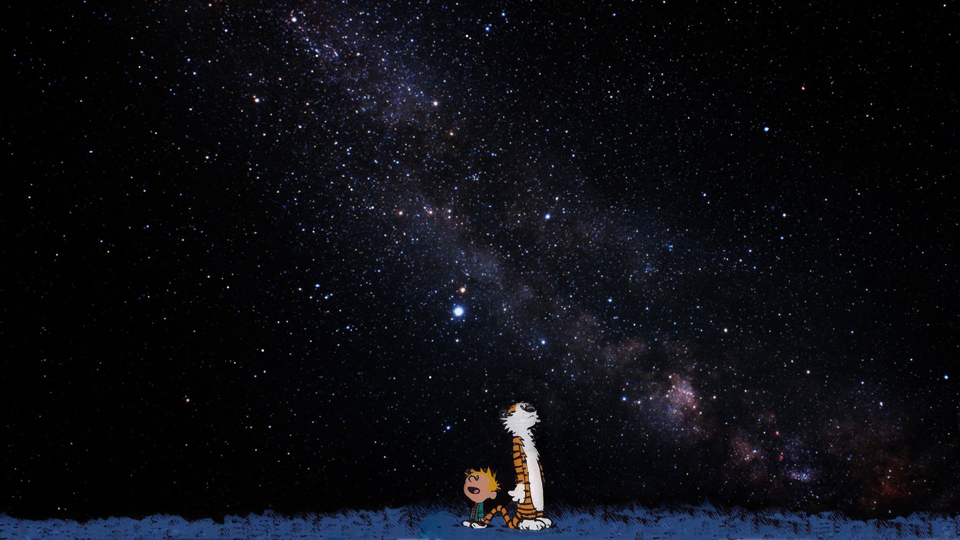 Calvin And Hobbes Stars wallpaper 180339 1920x1080