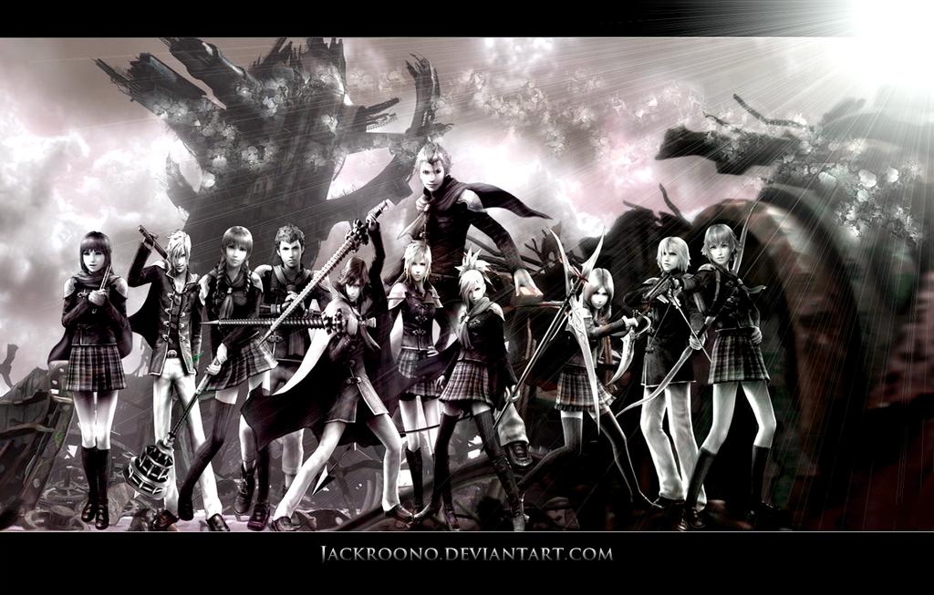 Free Download Epic Final Fantasy Wallpapers Type 0 Wallpaper