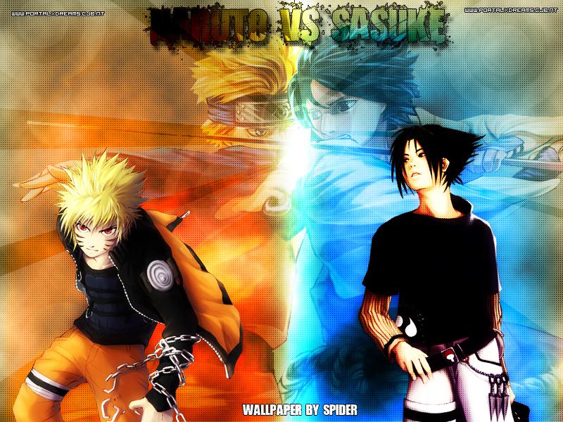 Sasuke Vs Naru 800x600