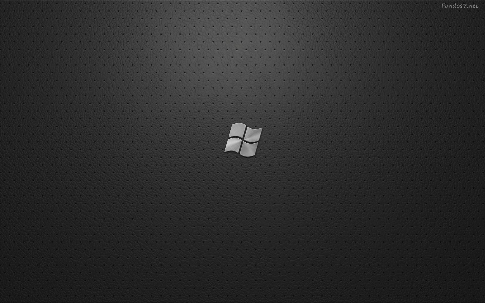 Download windows seven black 1024x768 wallpaper 1771 - Fondos7 Net Wallpaper Original Wallpapers Windows Seven Black