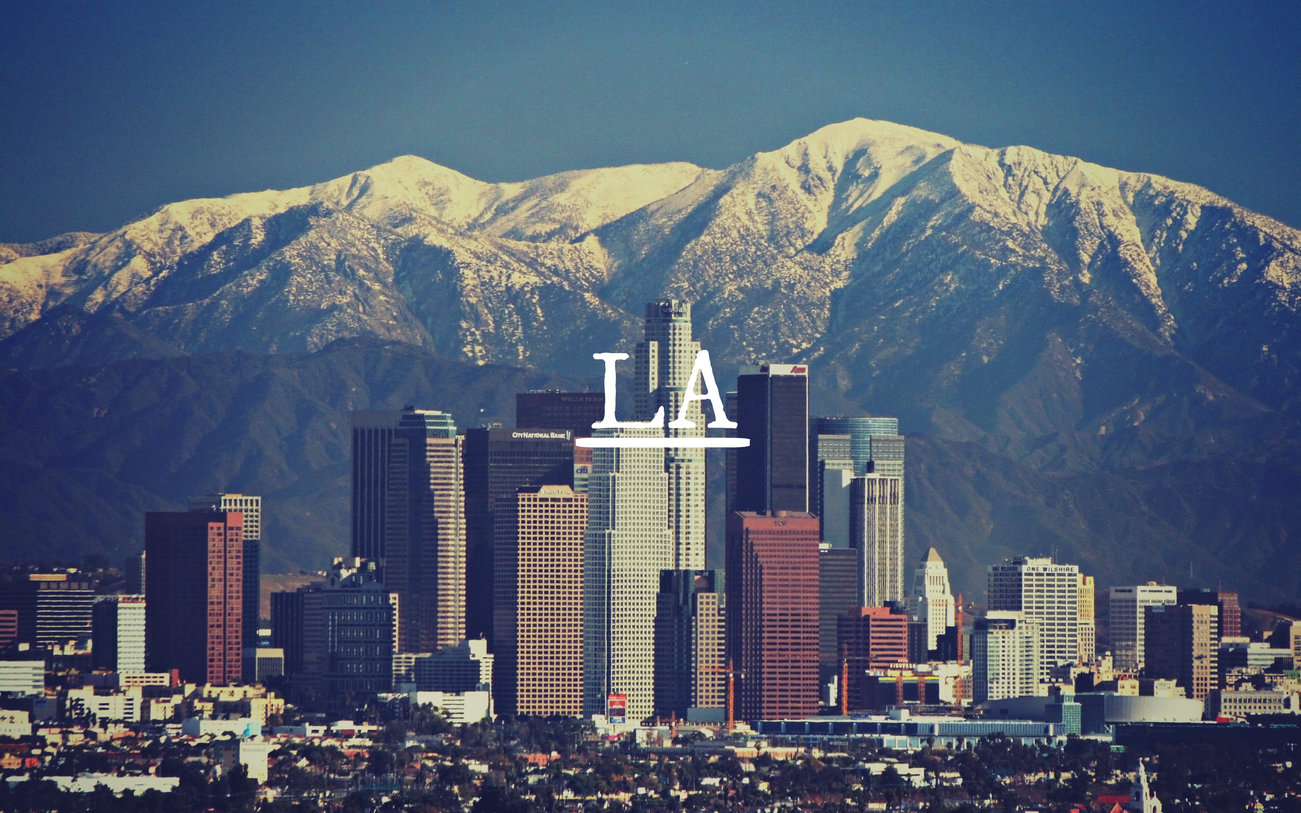 Los Angeles Computer Wallpapers Desktop Backgrounds 2560x1600 ID 2560x1600