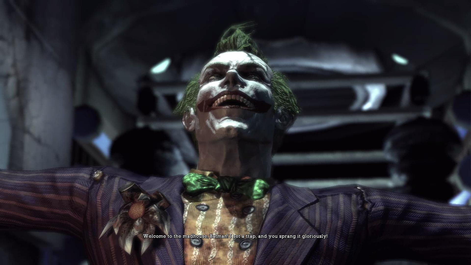 Batman Arkham Asylum Joker wallpaper   138776 1920x1080