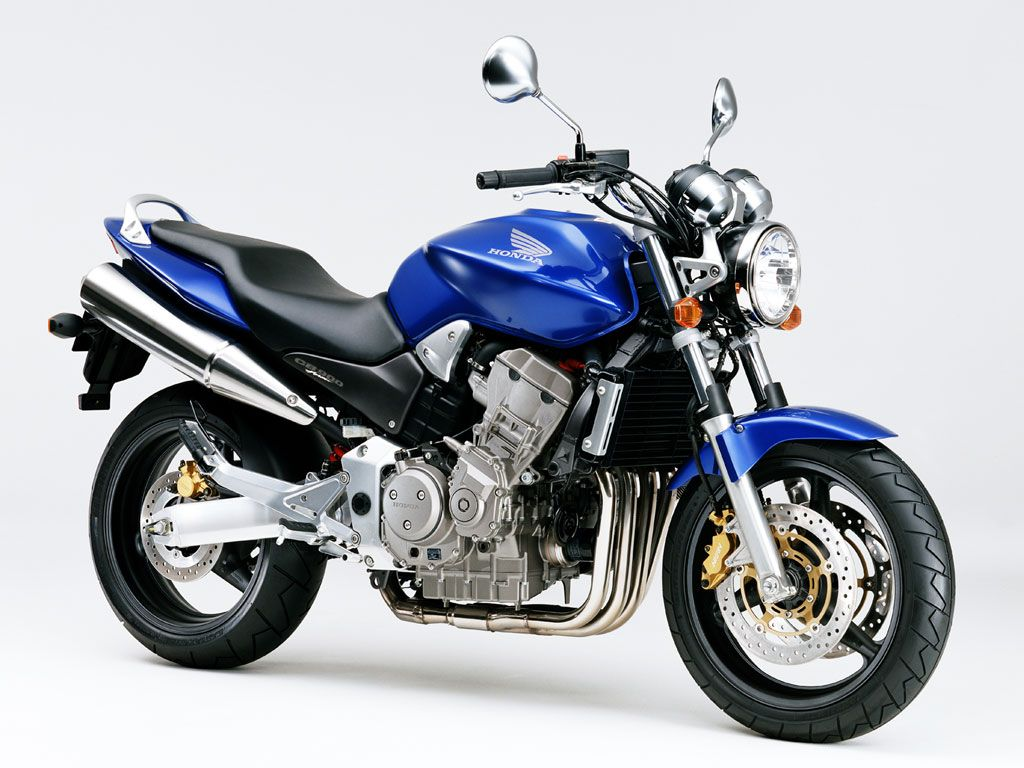 Blue Honda Hornet 900 Blue is my color Wallpaper moto Motos 1024x768