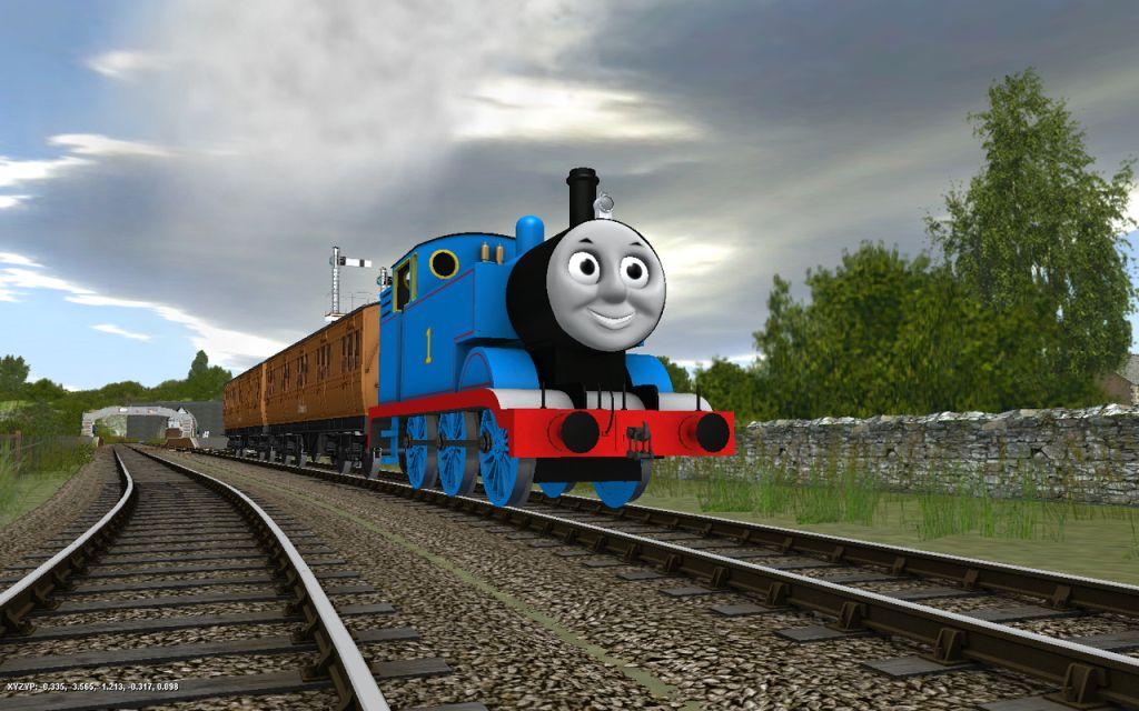 Thomas and Friends Wallpaper HD 1024x640