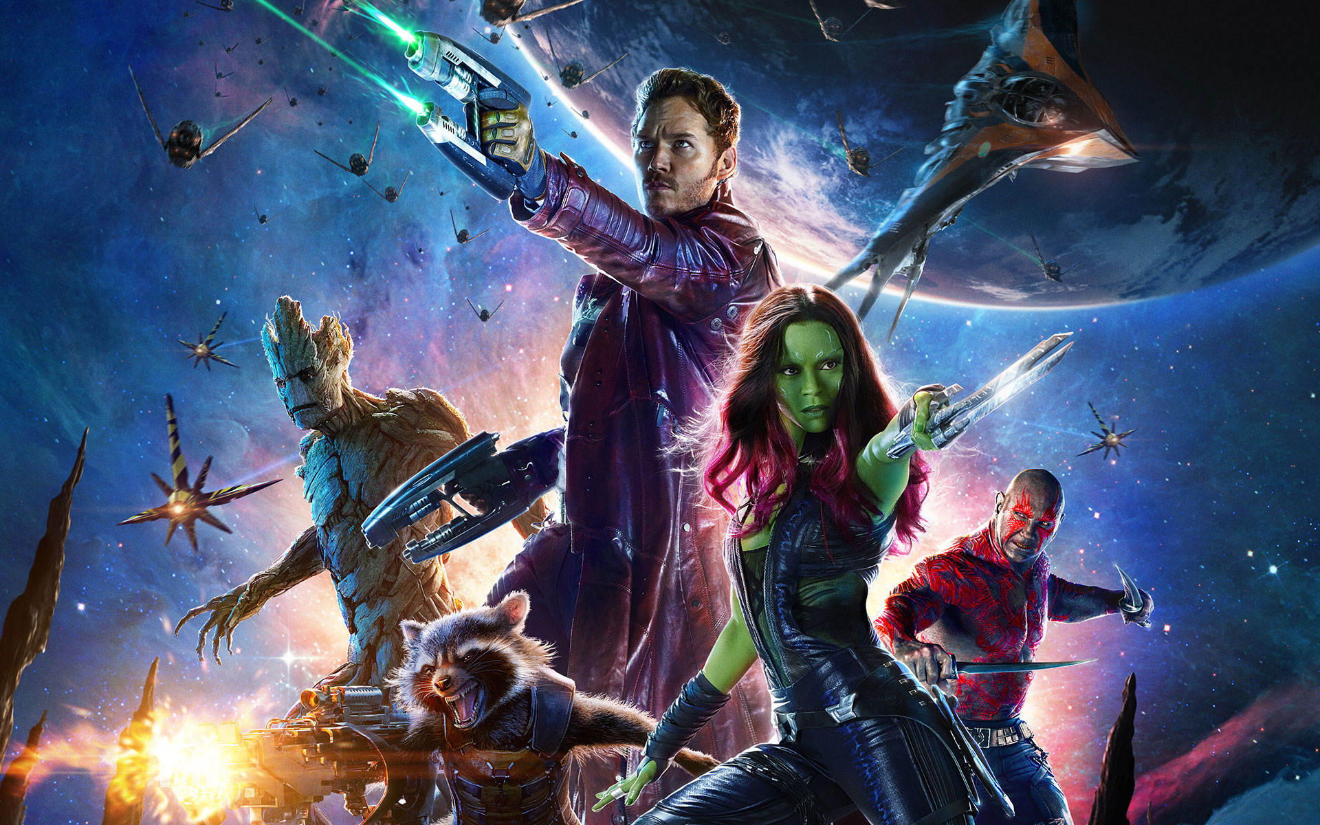Marvels Guardians of the Galaxy 2014 iPhone Desktop Wallpapers HD 1920x1200