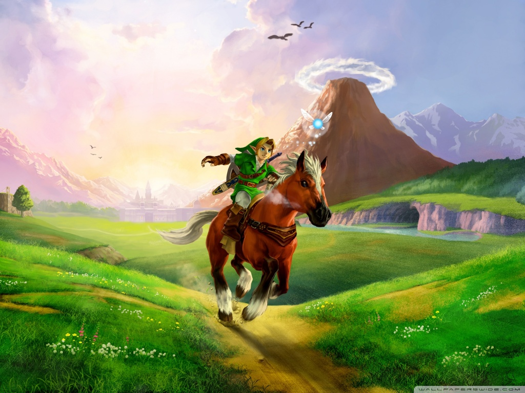 Free Download The Legend Of Zelda Ocarina Of Time 3d 4k Hd Desktop