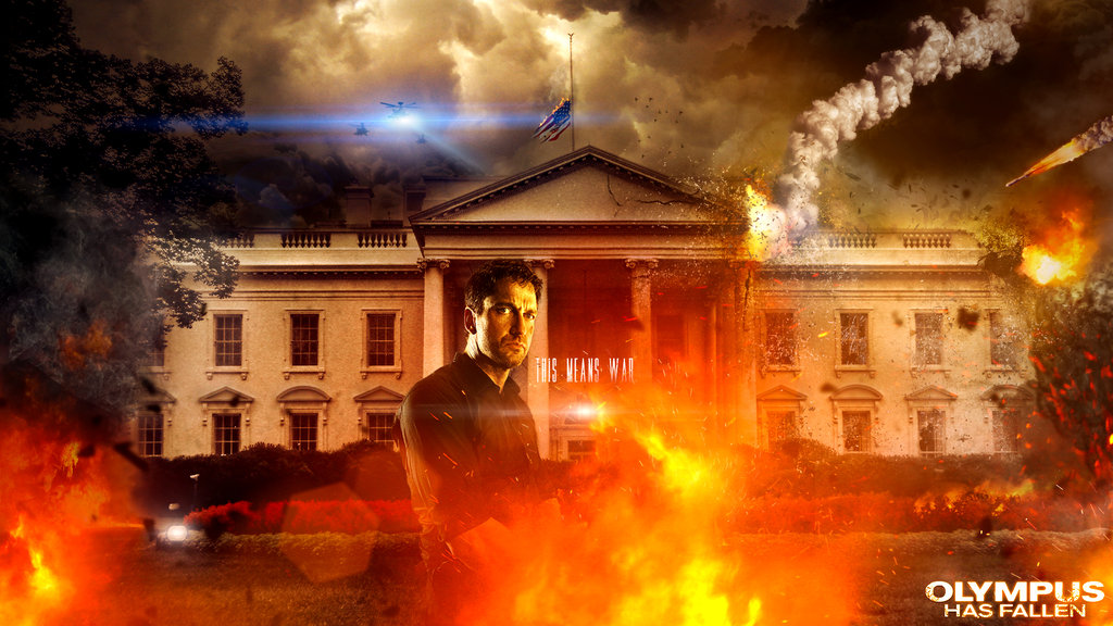 Olympus Has Fallen Wallpaper Olympus has fallen offical art 1024x576