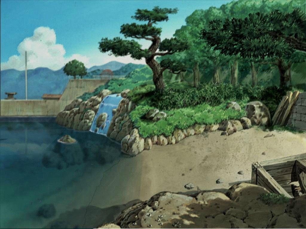 Boku no Natsuyasumi 2 backgroundsPS2 Day Anime Backgrounds Anime 1024x768