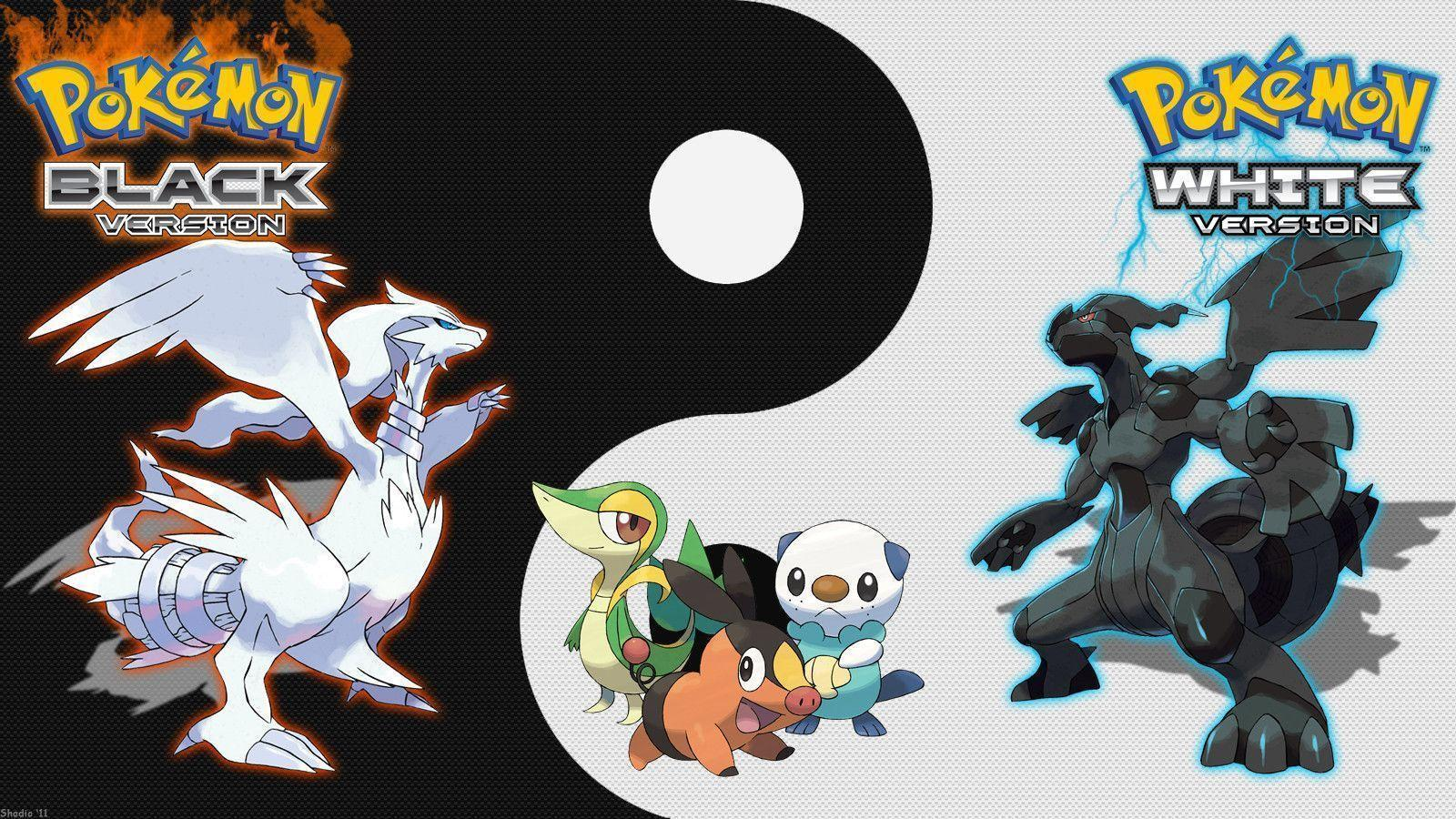 Pokemon Black And White Wallpapers - Wallpaper Cave