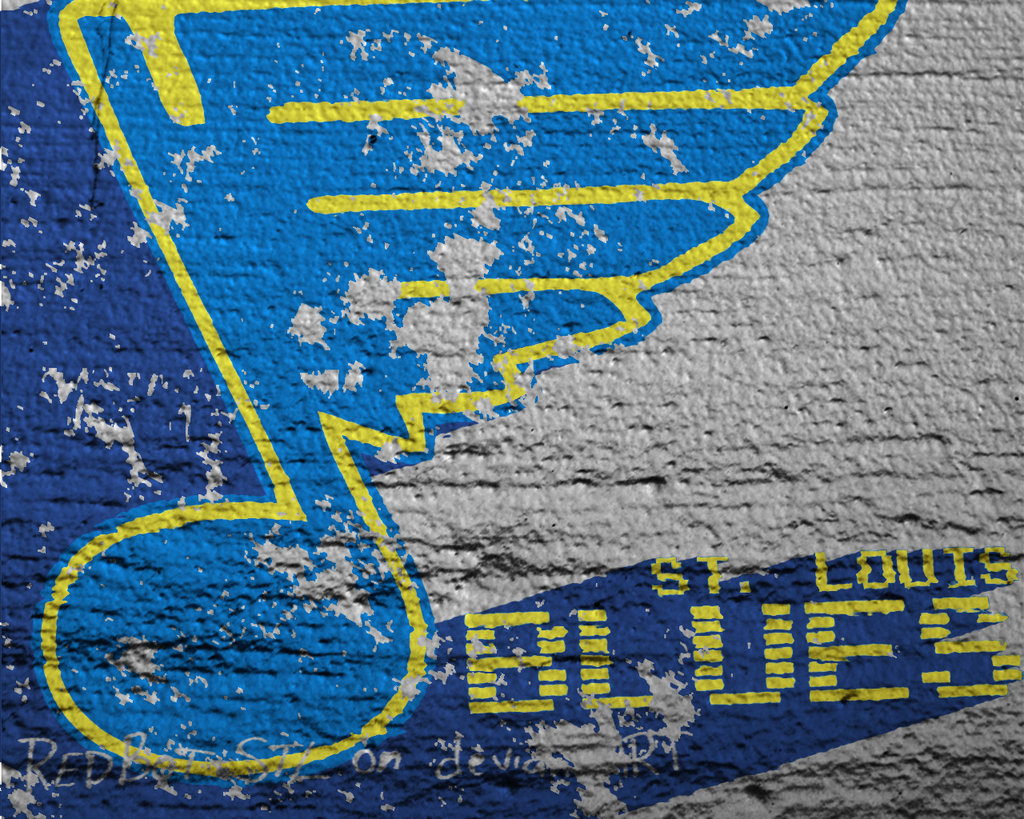 St Louis Blues Wallpaper By RedBot STL 1024x819