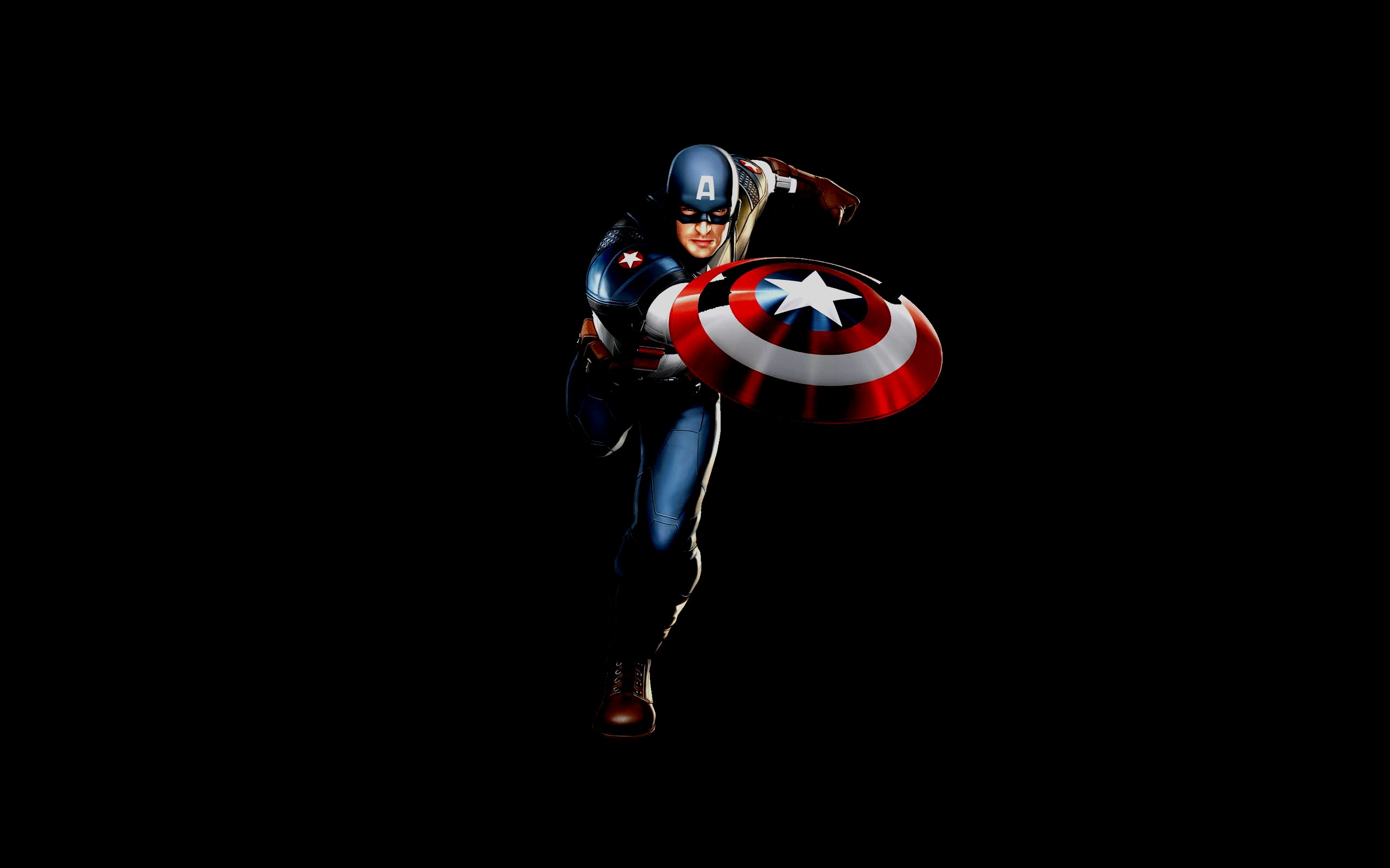 Superhero Captain America Wallpaper Captain America Wallpaper 2560x1600