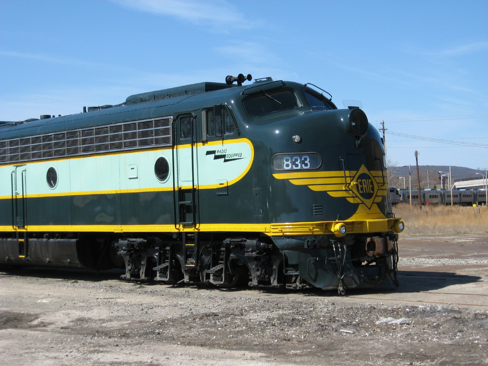 Download Classic Trains wallpaper old erie train 1600x1200