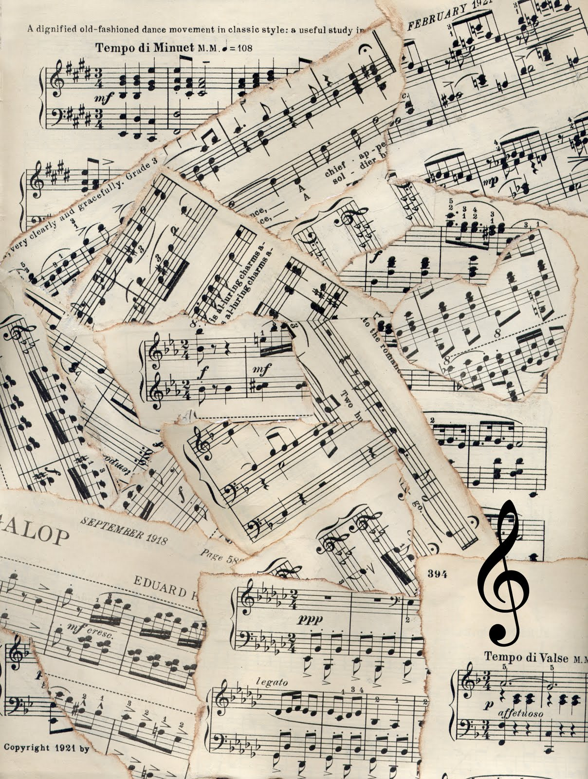 image about Vintage Sheet Music Printable named Free of charge down load Record Tunes Printable Tunes Sheets Tunes