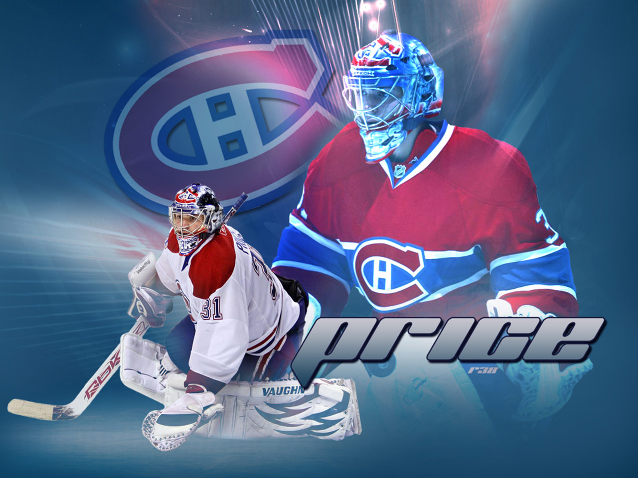 NHL Wallpapers   Carey Price Montreal Canadiens wallpaper 1280x960