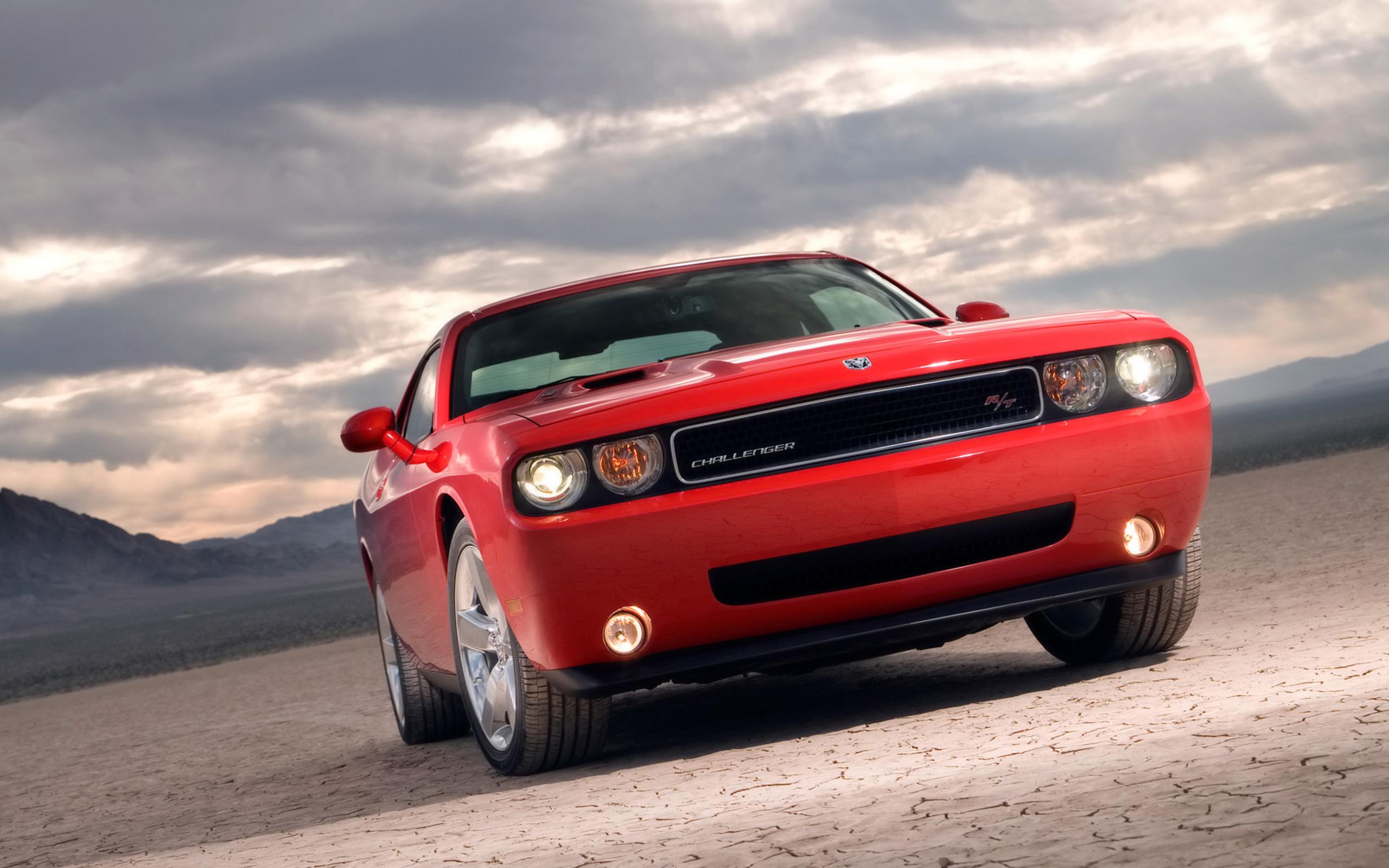 2008 Dodge Challenger desktop wallpaper 2560x1600