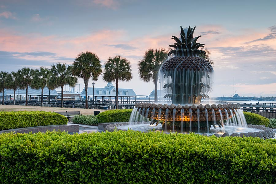 Charleston SC Area Map Information and Photos 900x600