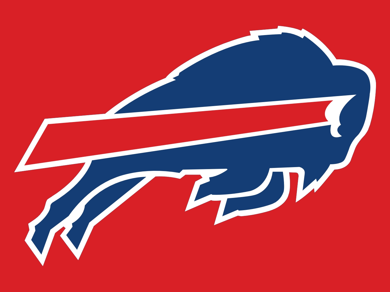 Buffalo Bills Red 1365x1024