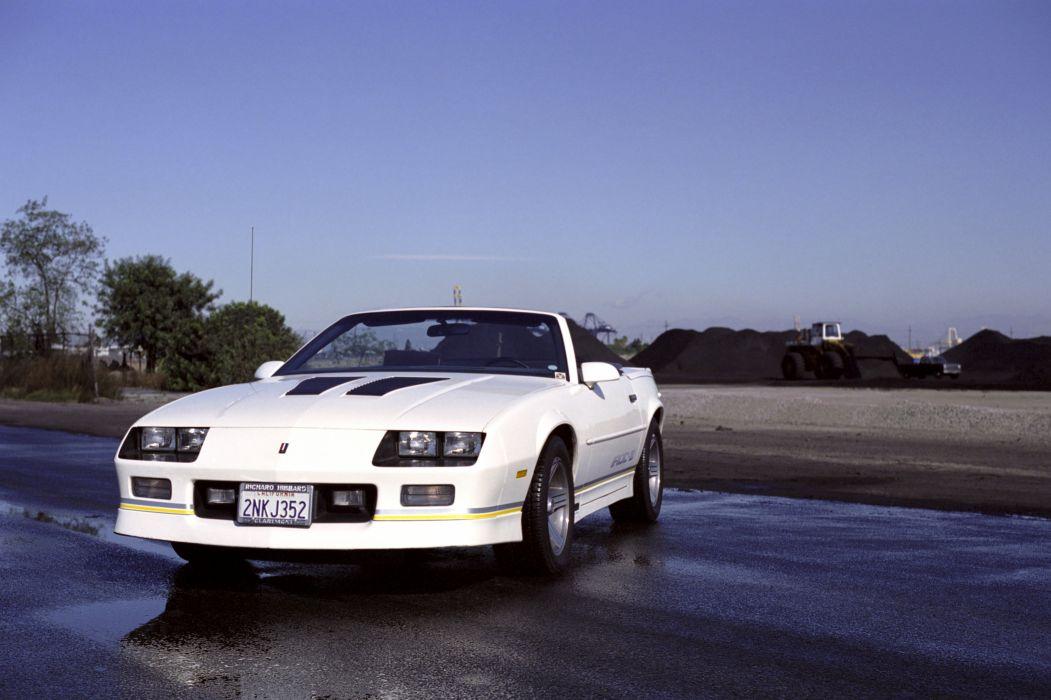 1988aei90 Chevrolet Camaro IROC Z Convertible muscle iroc 1051x700