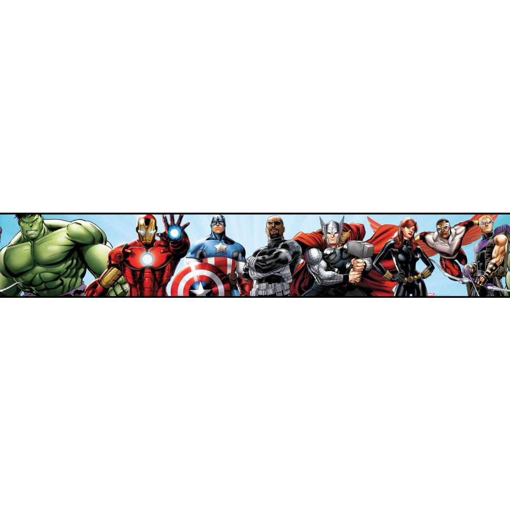 And Kids Marvel Heroes   Wallpaper Border Wallpaper inccom 1000x1000