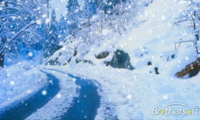 Snow Falling Wallpaper Or Screensavers Wallpapersafari