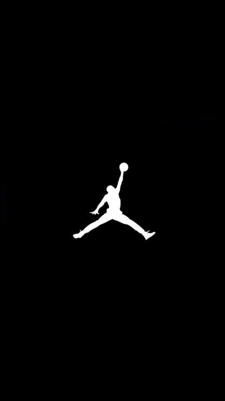 Black and White Jordan Logo Hypebeast Wallpaper for Phone and HD 750x1334