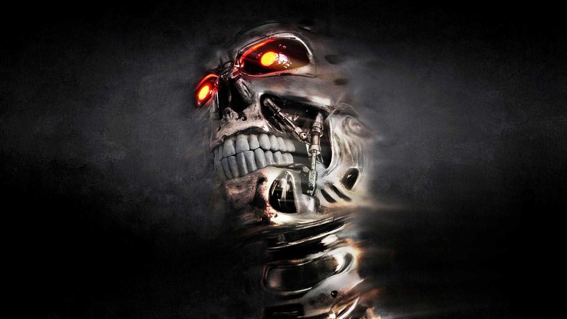 Pics Photos   3d Skull Wallpaper Hd Download 1920x1080