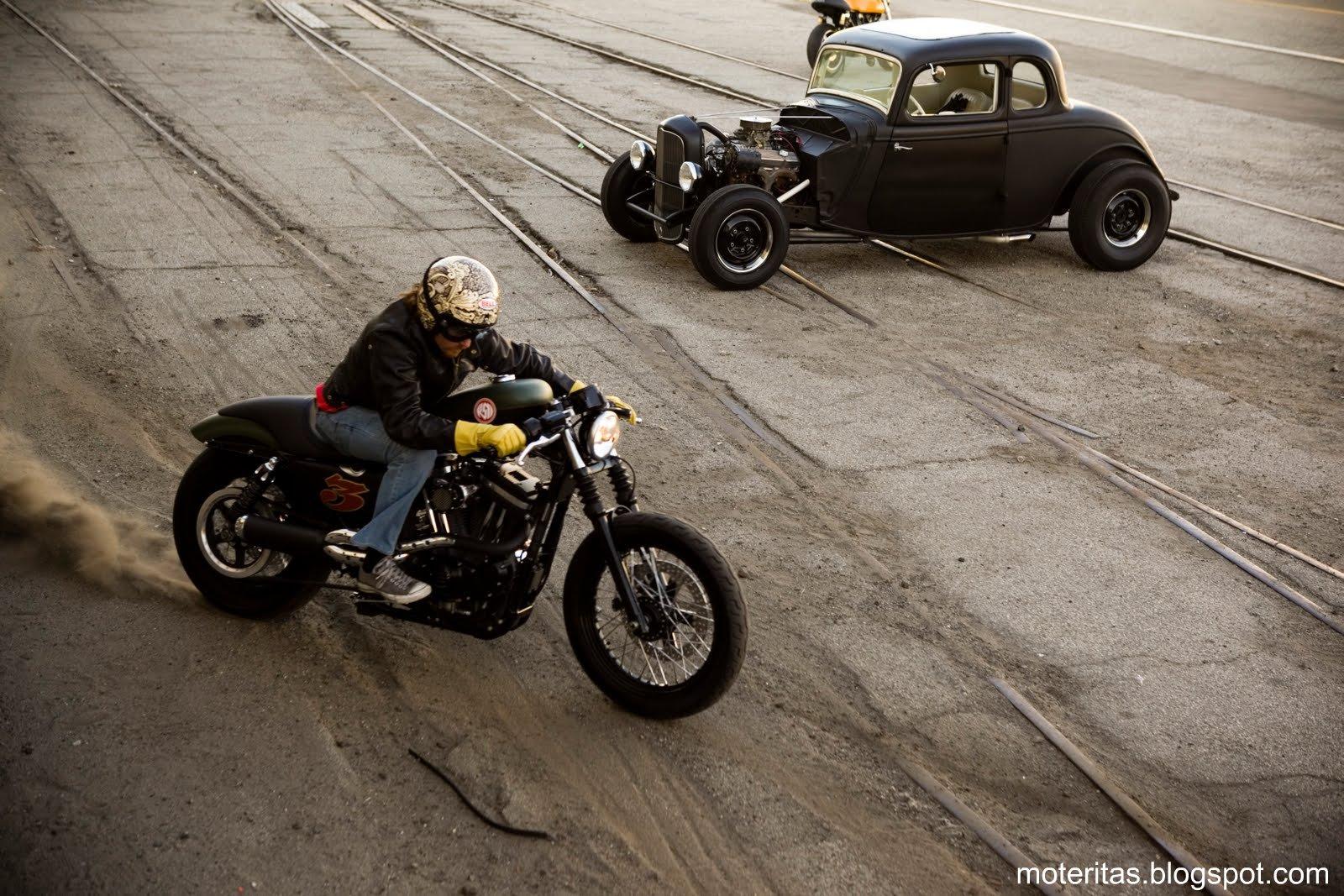Motos Chicas Harley Davidson Sportster Custom Wallpaper Car Interior 1600x1067