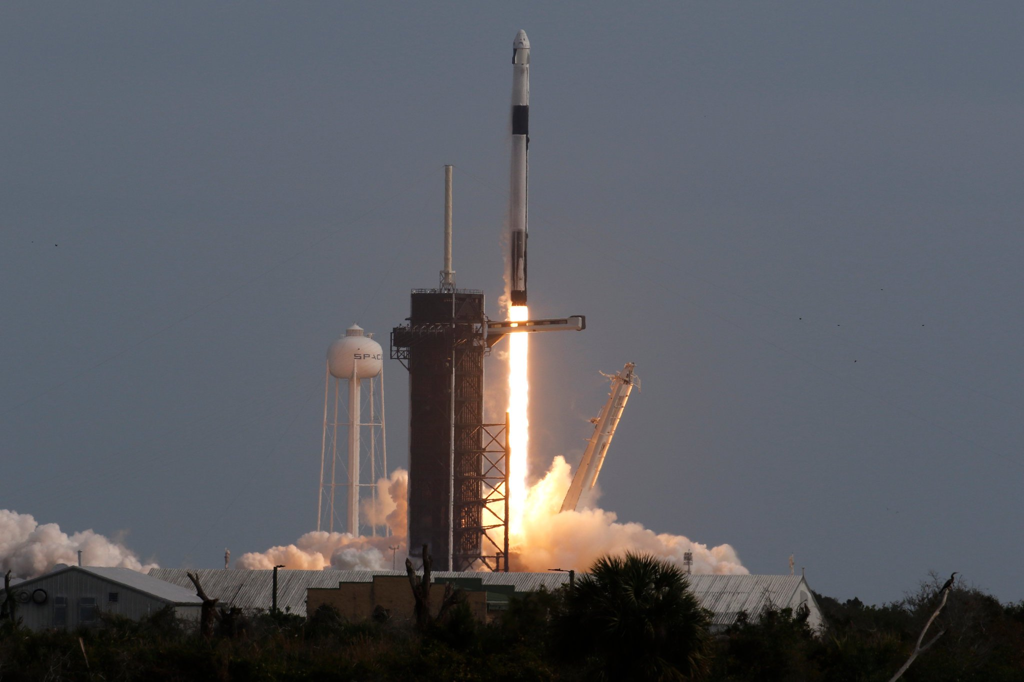 SpaceX Launch Highlights From the Crew Dragon Safety Test   The 2048x1365