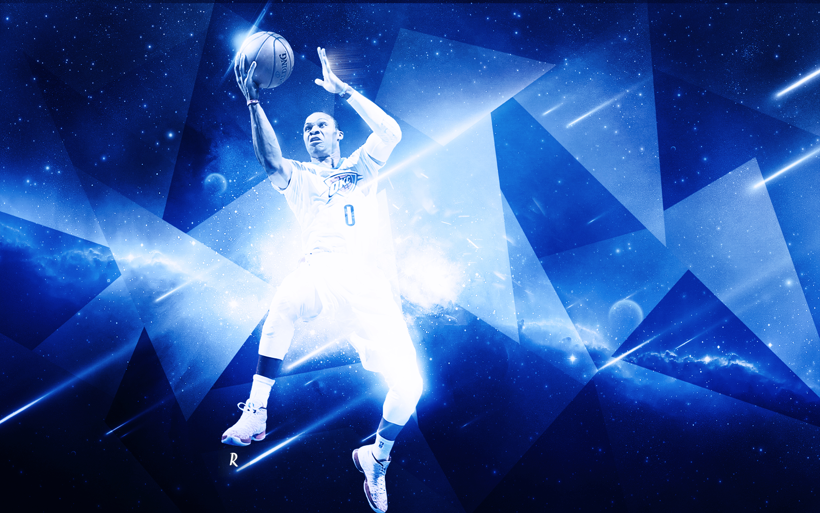 Russell westbrook wallpaper iphone wallpapersafari - Russell Westbrook Wallpaper By Rubanarts Customization Wallpaper Hdtv