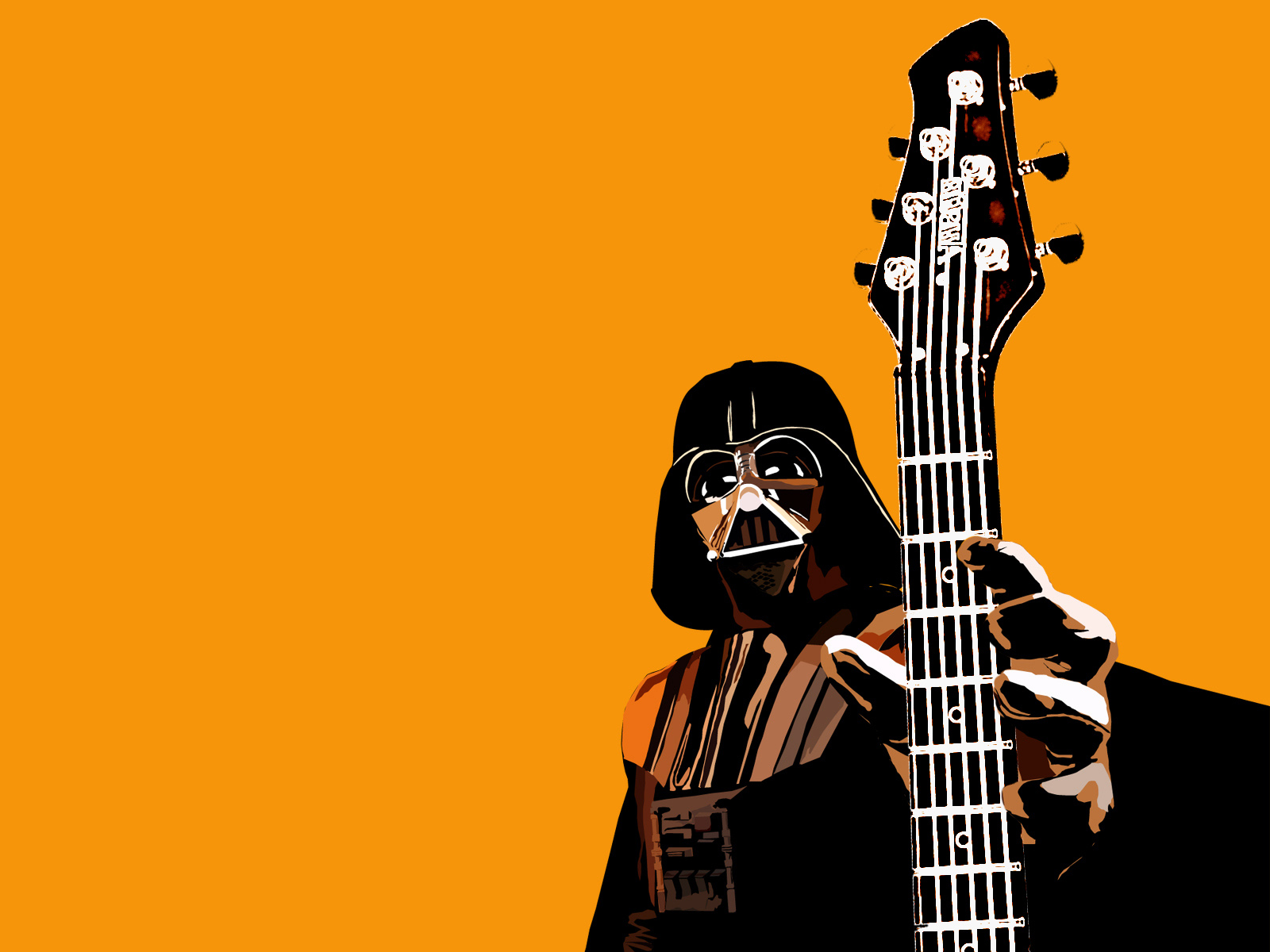 Darth Vader Wallpaper 1600x1200 Darth Vader Guitars 1600x1200