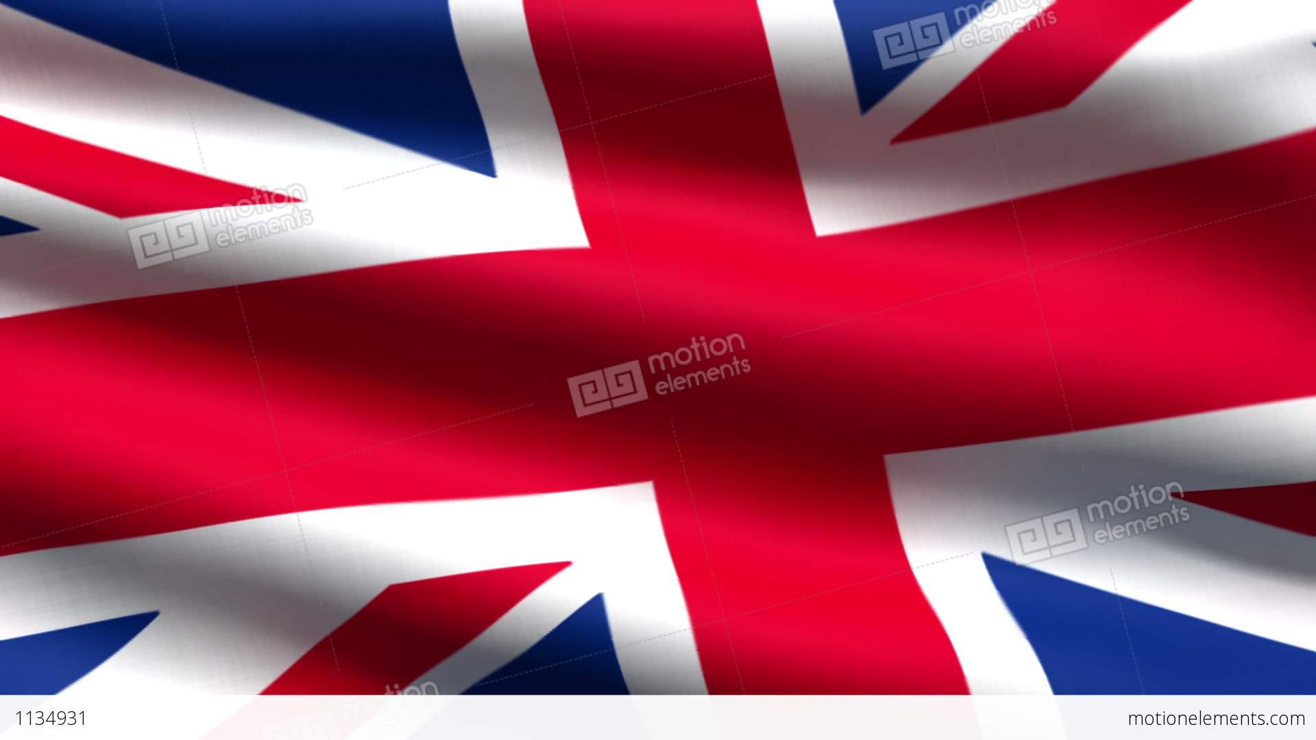 British Flag Background Stock Animation 1134931 1920x1080