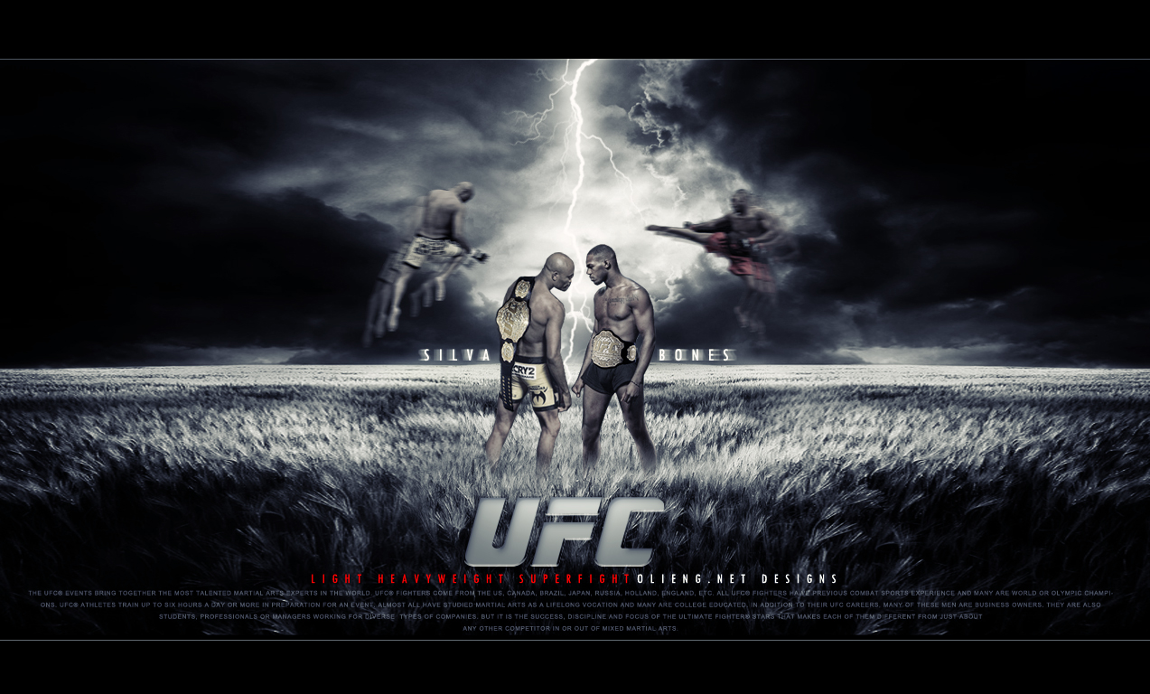 Vs Bones UFC HD Wallpaper Deskt 11416 Wallpaper ForWallpaperscom 1273x768