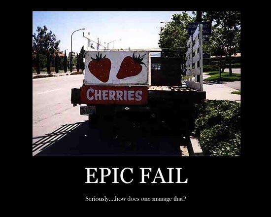 Epic fail Wallpaper 550x440