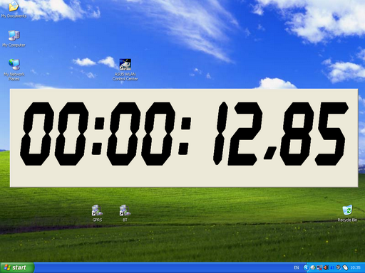 FileGets XNote Timer Screenshot   countdown timer and stopwatch 512x384